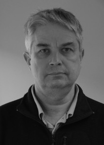 Bo Thunholm, hydrogeolog på SGU i Uppsala.